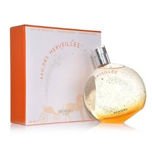 Hermès EAU DES MERVEILLES 3.3oz /3.4 oz/100 ml EDT Spray for Woman, New !!
