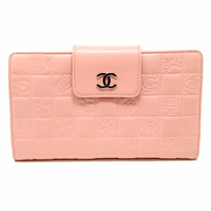 Chanel Chanel Signature CC Monogram Chocolate Quilted Design Chrome Long