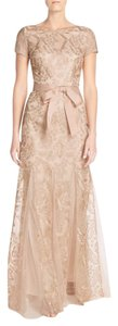 Adrianna Papell Lace Embroidered Gown Dress