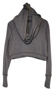 Zella Crop Top Sweater Hoodie