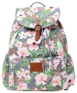 PINK Limited Edition Discontinued Victoria's Secret Cotton Canvas Backpack