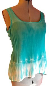 Red Haute Top turquoise