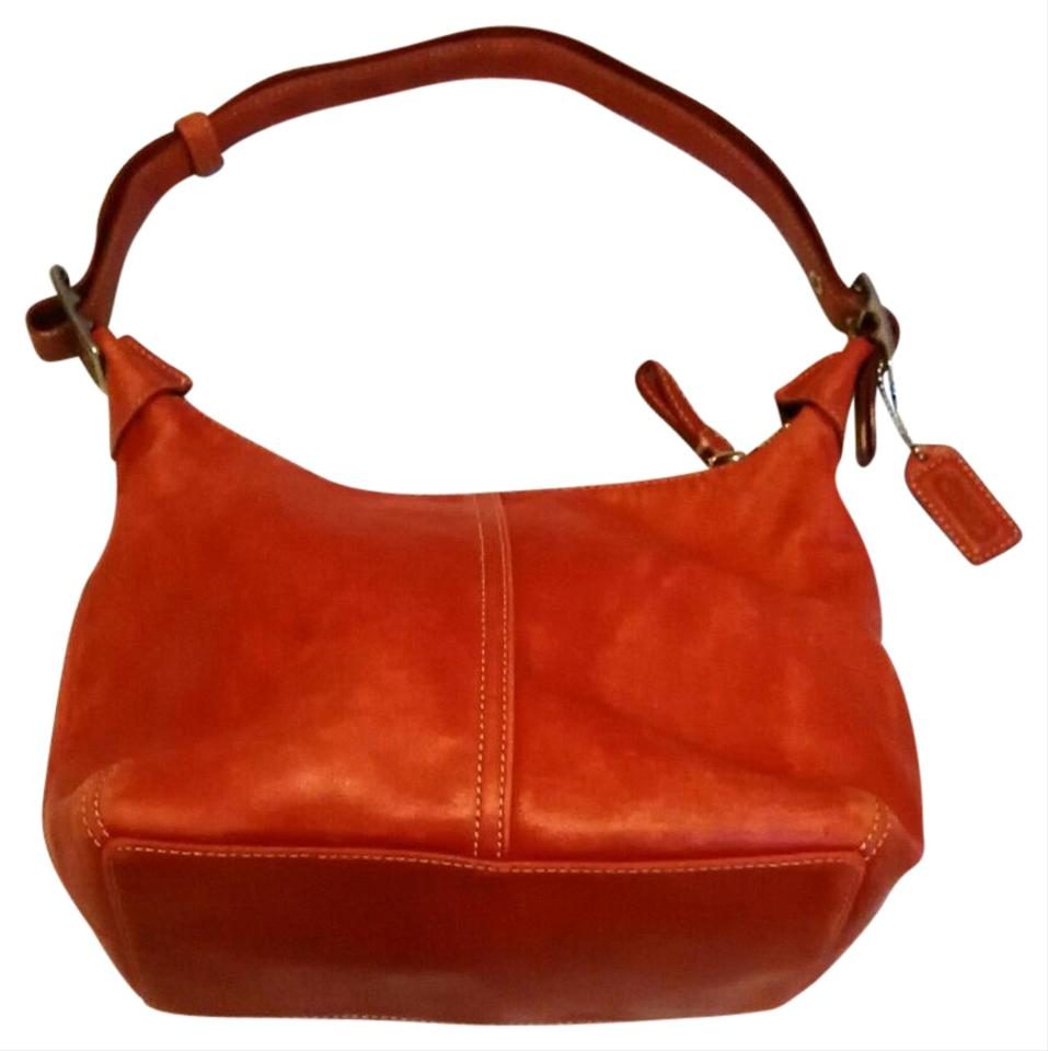 Coach Red D33-9566 Leather Hobo Bag - Tradesy d45a8bd5cf382