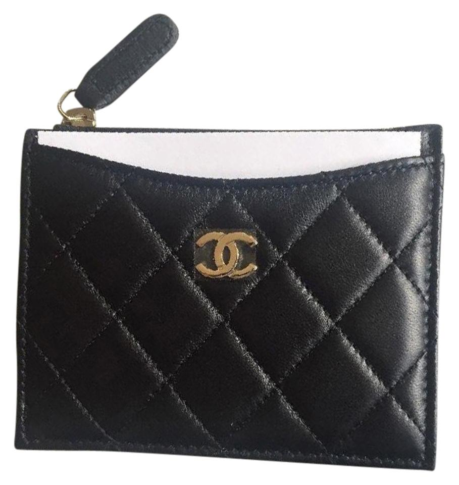 432c7b216c95 Chanel CHANEL 2017 Classic Lambskin O-Card Holder Zip Coin O-Case Wallet  Image ...