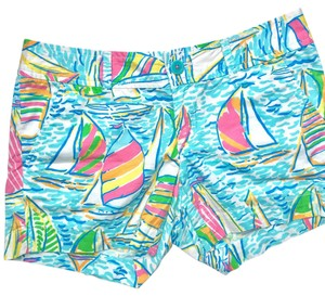Lilly Pulitzer Cuffed Shorts you gotta Regatta
