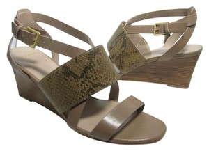 Cole Haan tan/ snake Sandals