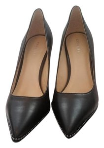 Coach Womens Leather Office black Pumps