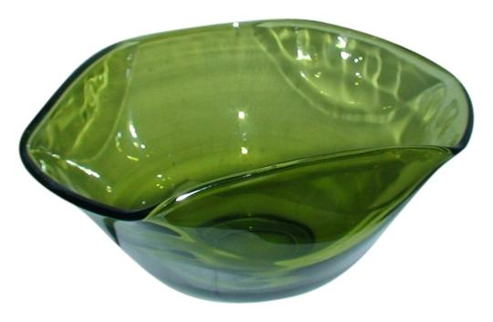 Other 1970's Vintage Leaded Glass Bowl, Amazing for Accessory / Jewery Holder and - or Decor