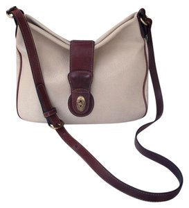 Coach Sheridan Pebbled Vintage United States Awl Cross Body Bag