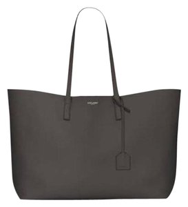 Saint Laurent Ysl Shopping Tote in Grey