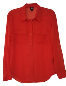 Rock & Republic Button Down Shirt Red
