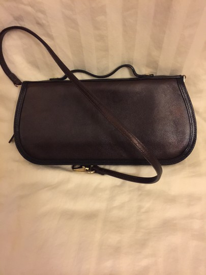 Kate Spade Chocolate with black lining Clutch