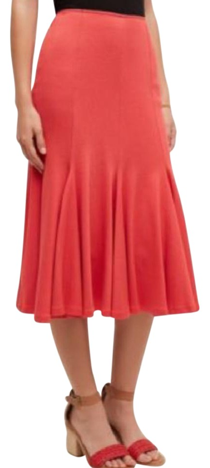 c9b87e0d1be8 HD in Paris Red Trumpet A Line Skirt Size 6 (S, 28) - Tradesy
