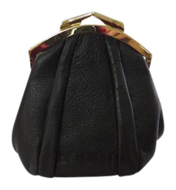 Item - New - The Women's Collection - Pebbled Clutch/Wallet Black Leather Clutch