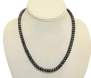 """Honora Honora .925 Black Freshwater Pearl Necklace 18"""""""