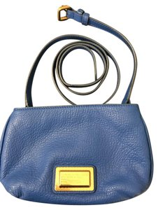Marc by Marc Jacobs Leather Bright Gold Summer Cross Body Bag