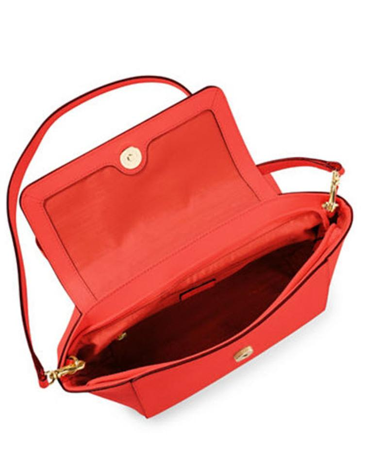 7e5f63c749cd Lauren Ralph Lauren Darwin Leather New New With Tags Satchel in cayenne  gold. 1234