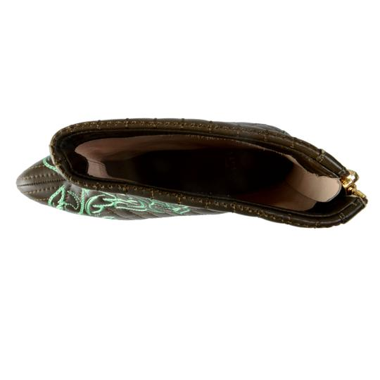 Versace OLive Green / Green Boots Image 4