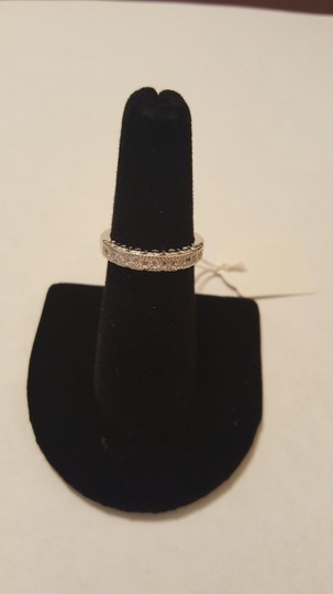 Other ** NWT ** HEARTS WEDDING BAND in STERLING SLIVER Image 5