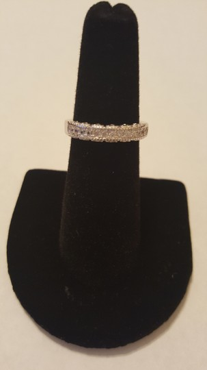 Other ** NWT ** HEARTS WEDDING BAND in STERLING SLIVER Image 6