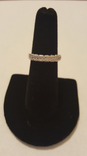 Other ** NWT ** HEARTS WEDDING BAND in STERLING SLIVER Image 7