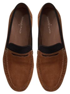 Donald J. Pliner Leather Suede Loafers Slip Ons Men's Brown Black Flats