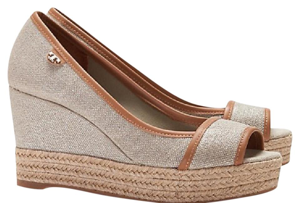 4f1484fca757 Tory Burch Majorca Wedges Size US 7.5 Regular (M