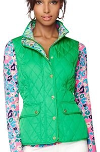 Lilly Pulitzer Quilted Lilly Mint Vest