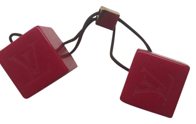 Item - Red Cubes Hair Accessory