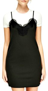 Other short dress Black Layered Slip Goth Grunge Lacy on Tradesy