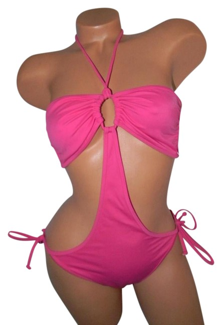 Preload https://img-static.tradesy.com/item/21355230/victoria-s-secret-pink-string-ties-sides-one-piece-bathing-suit-size-10-m-0-1-650-650.jpg