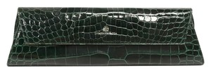 Domenico Vacca Structured Green Clutch