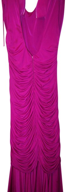 Item - Wine Prom Party Cocktail Long Formal Dress Size 10 (M)