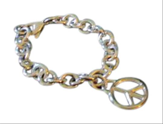 Preload https://img-static.tradesy.com/item/21355664/tiffany-and-co-silver-retired-vintage-peace-circle-charm-pendant-bracelet-0-1-540-540.jpg