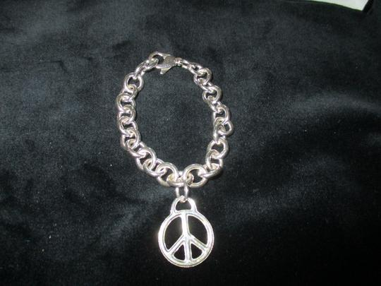 Tiffany & Co. Retired Vintage Peace Circle Charm Pendant Image 1