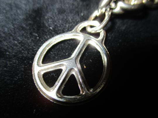 Tiffany & Co. Retired Vintage Peace Circle Charm Pendant Image 2