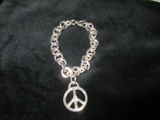 Tiffany & Co. Retired Vintage Peace Circle Charm Pendant Image 3