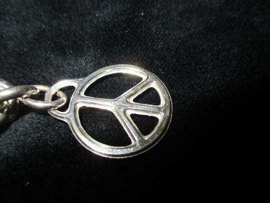 Tiffany & Co. Retired Vintage Peace Circle Charm Pendant Image 4