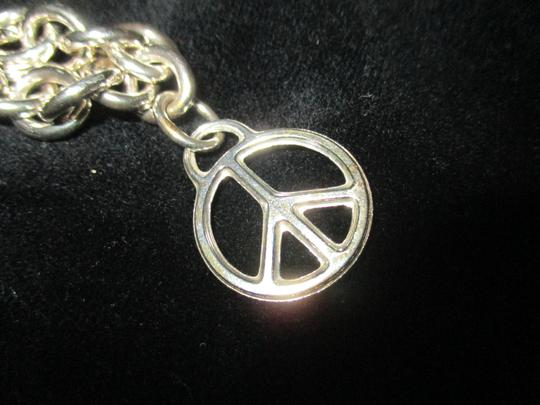 Tiffany & Co. Retired Vintage Peace Circle Charm Pendant Image 5