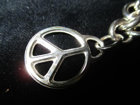 Tiffany & Co. Retired Vintage Peace Circle Charm Pendant Image 6