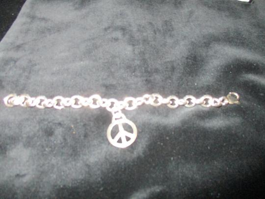 Tiffany & Co. Retired Vintage Peace Circle Charm Pendant Image 7