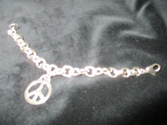 Tiffany & Co. Retired Vintage Peace Circle Charm Pendant Image 8
