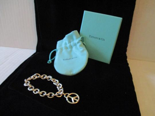 Tiffany & Co. Retired Vintage Peace Circle Charm Pendant Image 9