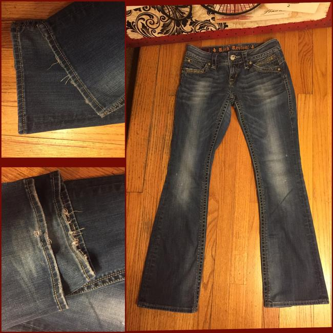 Rock Revival Boot Cut Jeans-Distressed Image 2