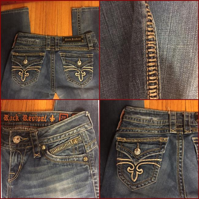Rock Revival Boot Cut Jeans-Distressed Image 4