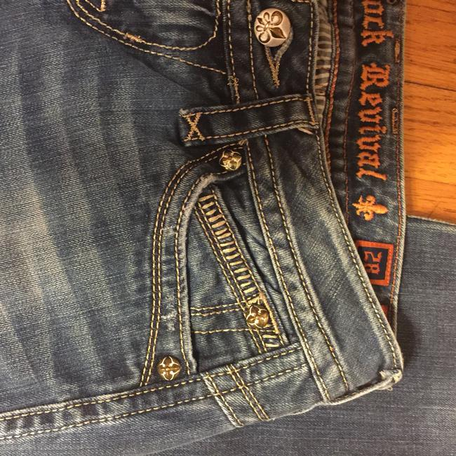 Rock Revival Boot Cut Jeans-Distressed Image 7