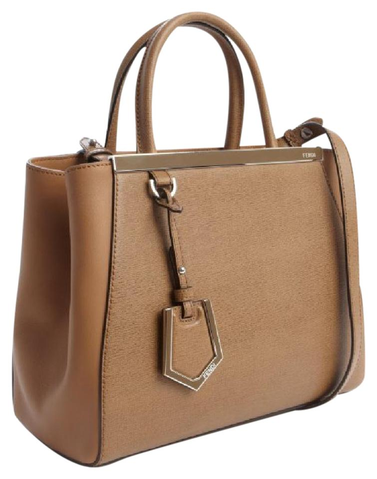 f3039324cbc3 Fendi Strap You 2 Jours Strap 2jours Medium Tote in Camel Image 6. 1234567