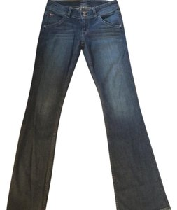 Hudson Jeans Worn Once For An Hour Boot Cut Jeans-Distressed