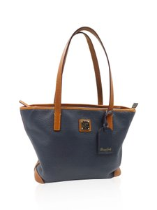 Dooney & Bourke & Leather Charleston Tote in Navy