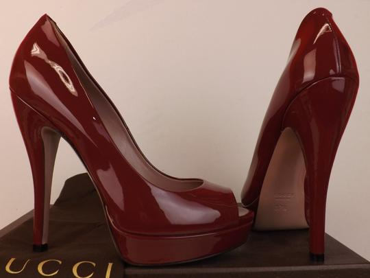 Gucci TIBET/Red Pumps Image 1